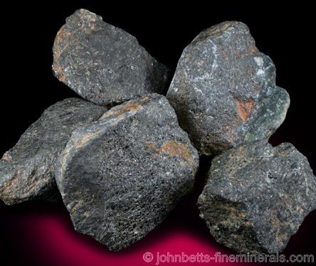 5 Pieces of Chromite