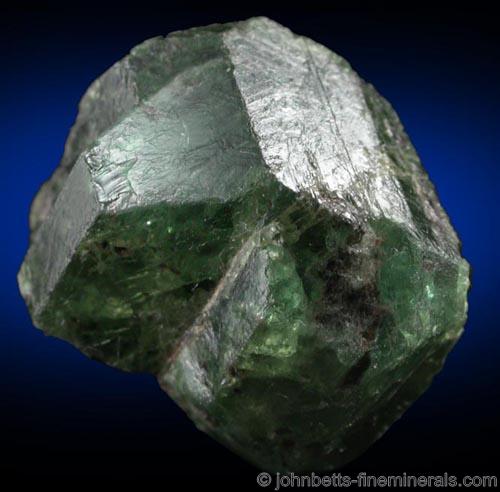 Twinned Alexandrite Crystals