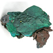 Chryocolla Pseudo After Malachite