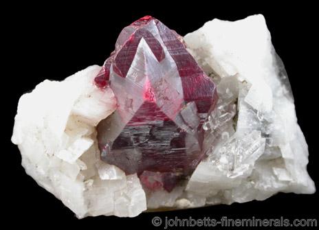 Large Cinnabar Crystal