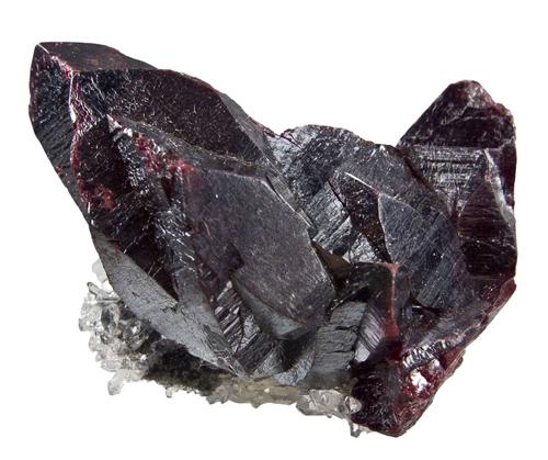 Large, Dark Red Cinnabar Crystals