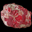 Cinnabar Mas with Calcite