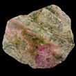 Radiating Pink Clinozoisite Crystals