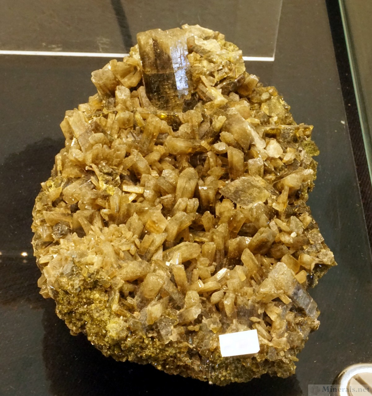Clinozoisite Crystal Cluster