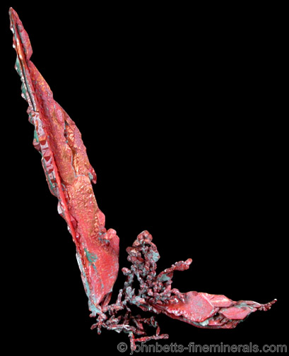 Copper with Cuprite Coating