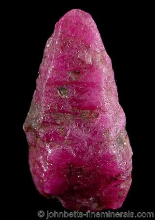 Hexagonal Ruby Crystal