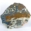 Covellite with Chalcopyrite