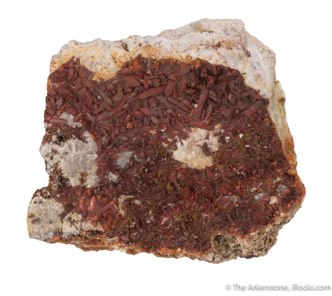 Brown Crocoite Crystal Grouping