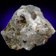 Cryolite with Siderite and Sphalerite
