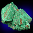 Cuprite with Malachite Coating