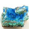 Cyanotrichite with Malachite
