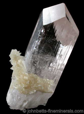 Gemmy Colorless Danburite Crystal The Mineral And