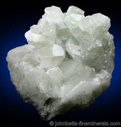 Mint-Green Datolite Crystals