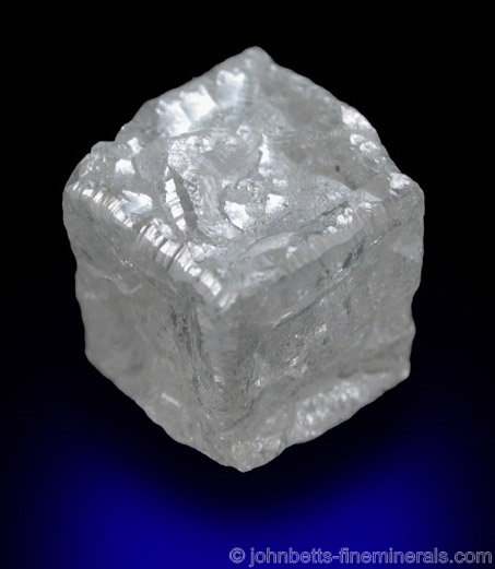 Cubic White Diamond Crystal