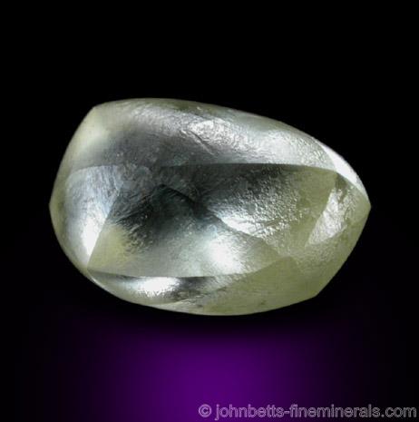 Hexoctahedral Diamond Crystal