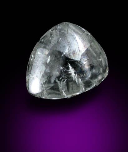 Grayish-Whtie Diamond Macle