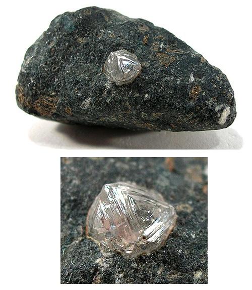Diamond in Matrix