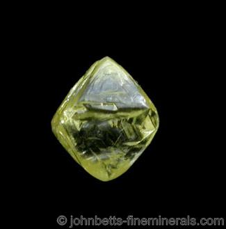 Yellow Diamond Octahedron