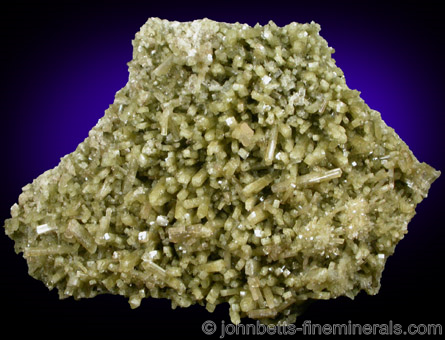 Diopside Plate with Prehnite