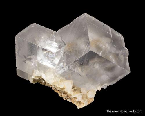 Twinned Clear Dolomite Rhombohedrons