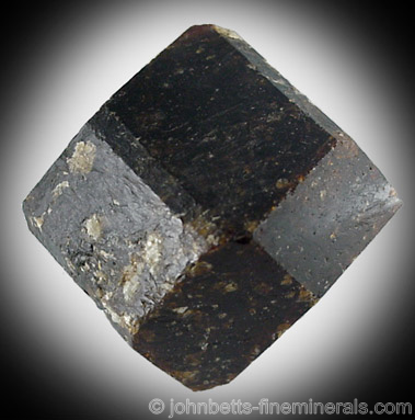 Pseudo-Dodecahedral Dravite Crystal