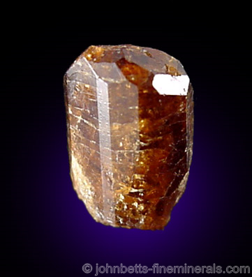 Lustrous Dravite Crystal