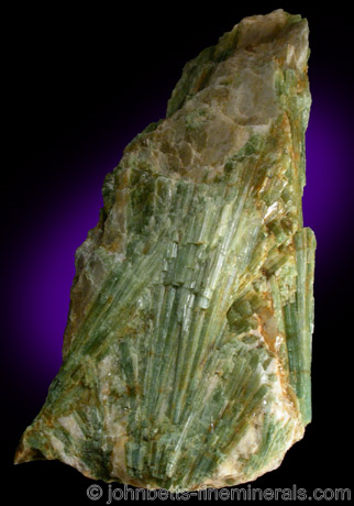Green Elbaite Sprays