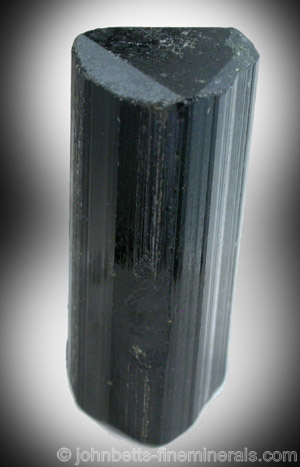 Black Elbaite Tourmaline