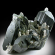 Large Epidote Crystals with Quartz