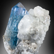 Blue Euclase in Calcilte