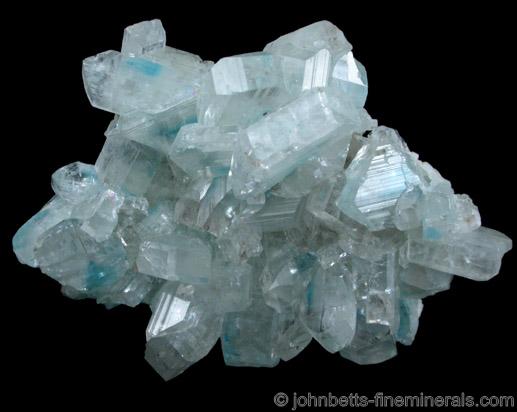 Euclase Crystal Cluster