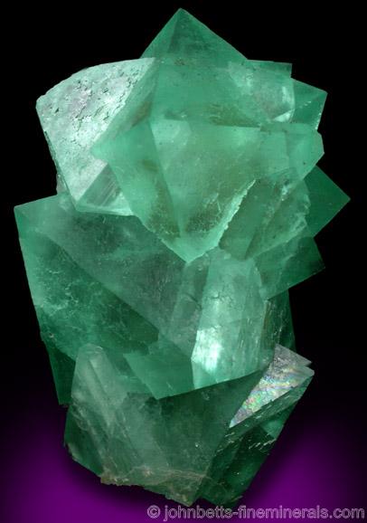 Green Fluorite from Reimvasmaak