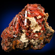 Gibbsite with Crocoite