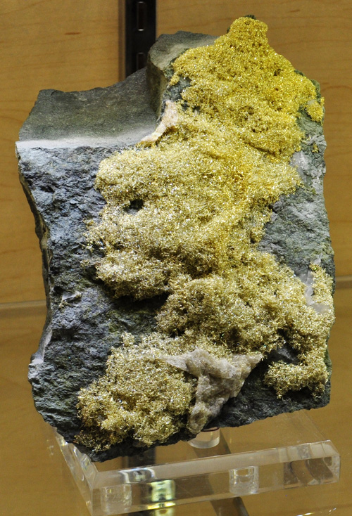 Gold: The mineral native Gold information and pictures
