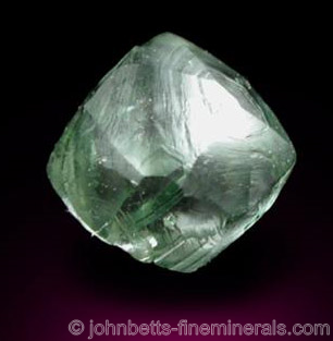 Green Diamond Crystal from Guaniamo, Bolivar Province, Venezuela