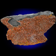 Red-Orange Greenockite Microcrystals