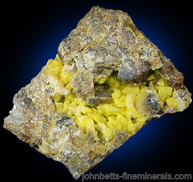Greenockite Coating Botryoida Smithsonite
