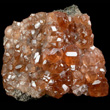 Hessonite Crystal Cluster
