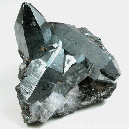 Prismatic Hematite Crystals