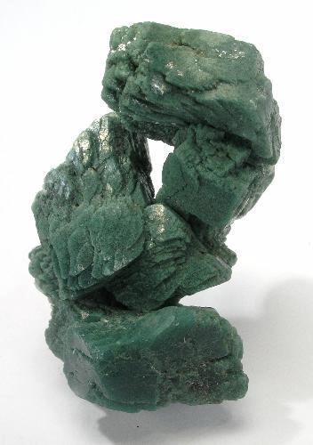 Dark Green Heulandite