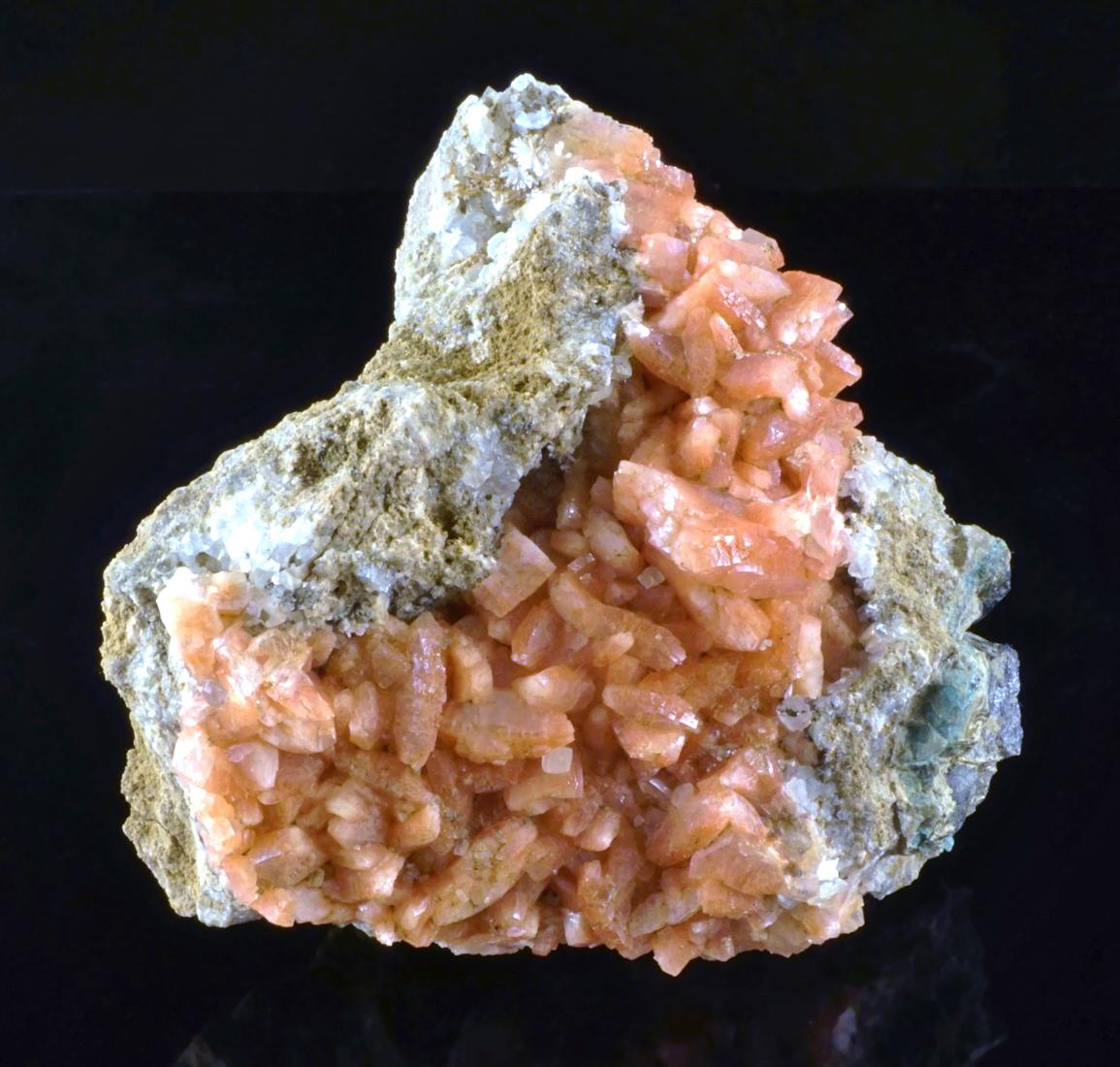 Red Heulandite Crystals