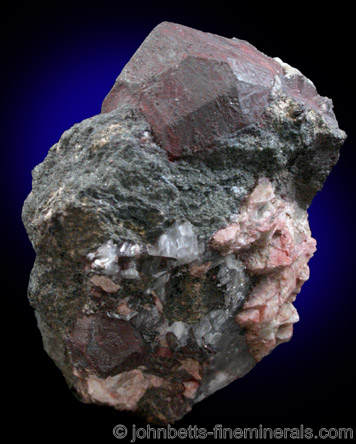 Complex Ilmenite Crystal