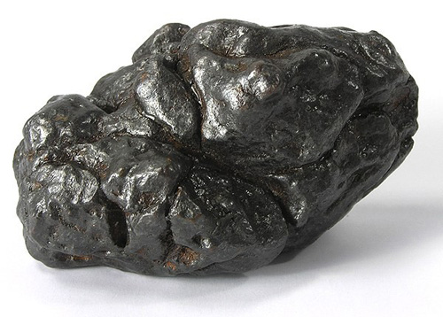 Iron-Nickel Meteorite (Kamacite) - The Mineral and ...