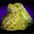 Crystallized Sulfur from Sicily