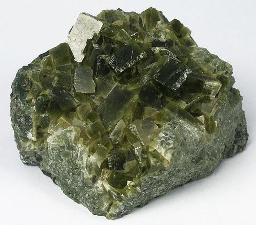 Olive-Green Johansennite