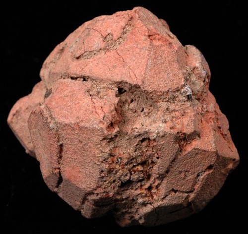 Kaolinite Pseudomorph of Leucite