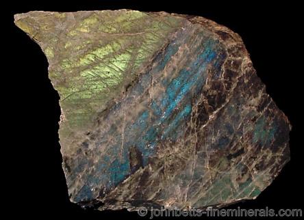 Labradorite from Saranac Lake, NY