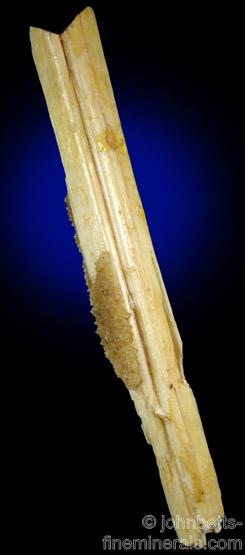 Elongated Laumontite Fishtail Twin