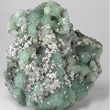 Laumontite on Prehnite