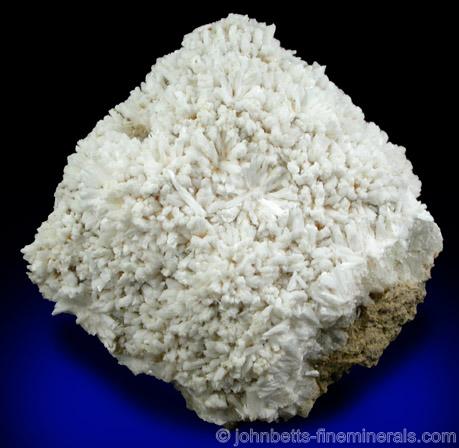 Radiating Laumontite Clusters